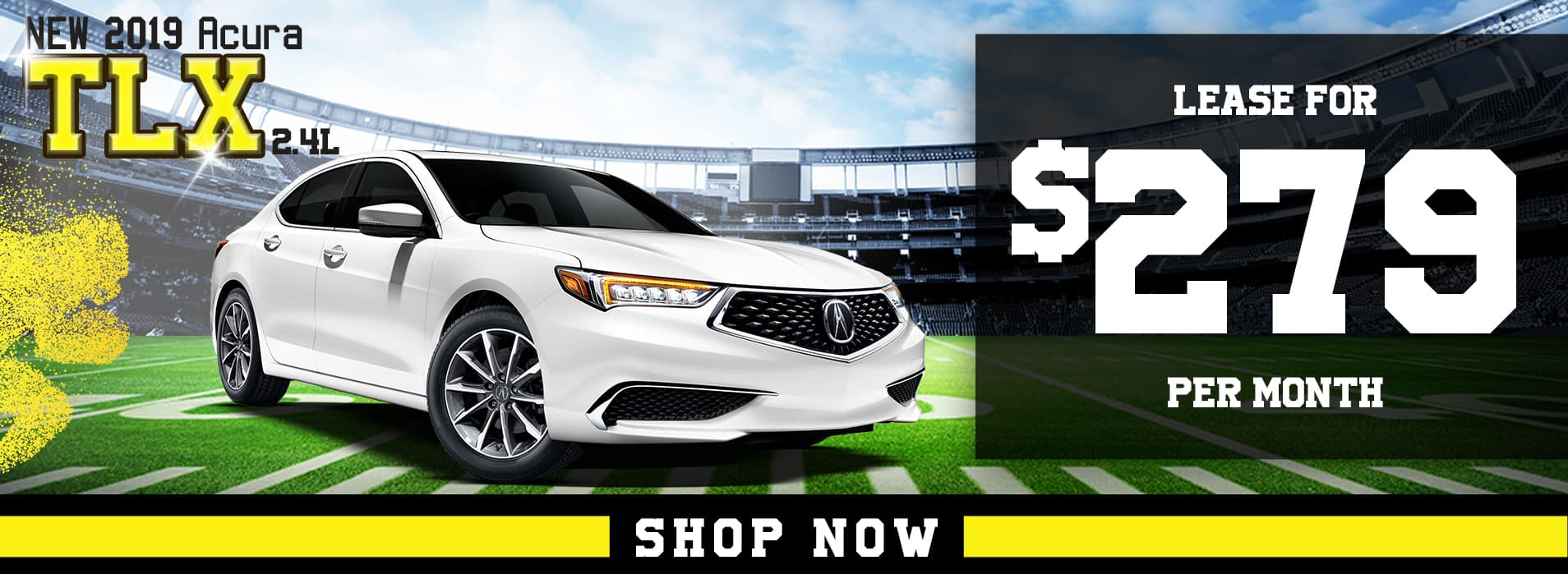 TLX lease for $279 per mo