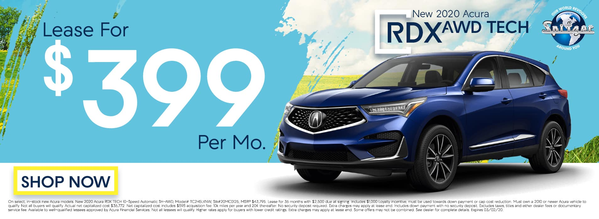 RDX | Lease for $399 per mo