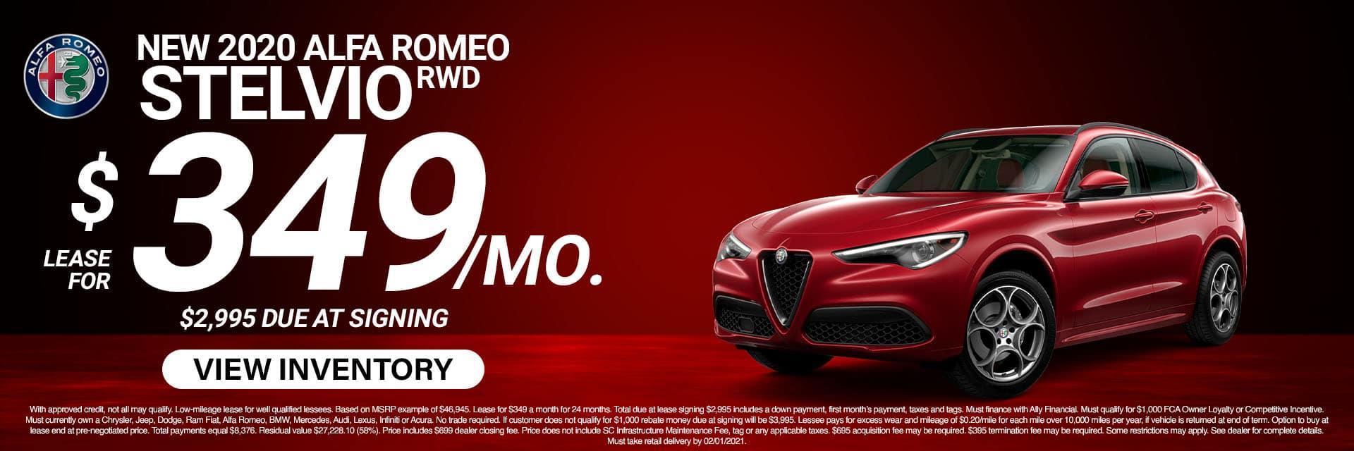 SLAR-January 20212020 Alfa Romeo Stelvio