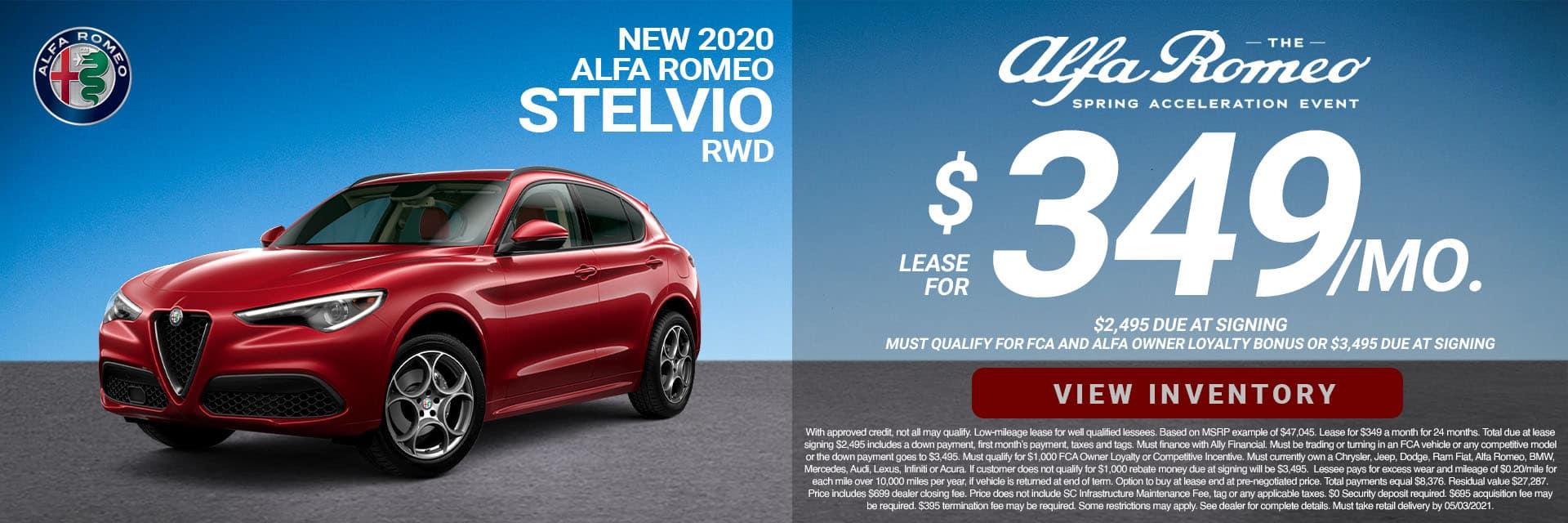 SLAR-April 20212020 Alfa Romeo Stelvio