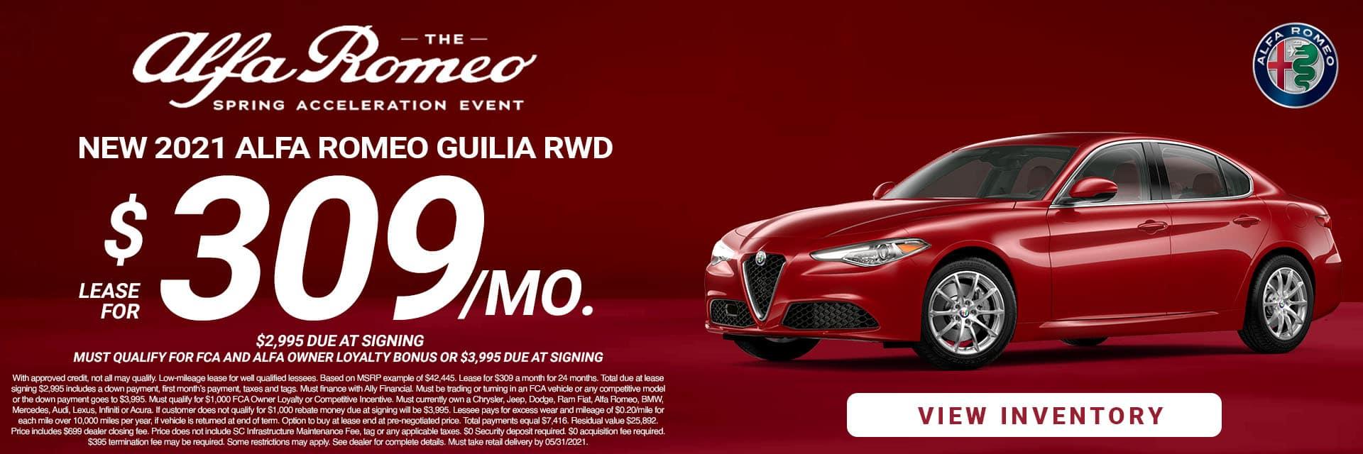 SLAR-May 20212021 Alfa Romeo Giulia