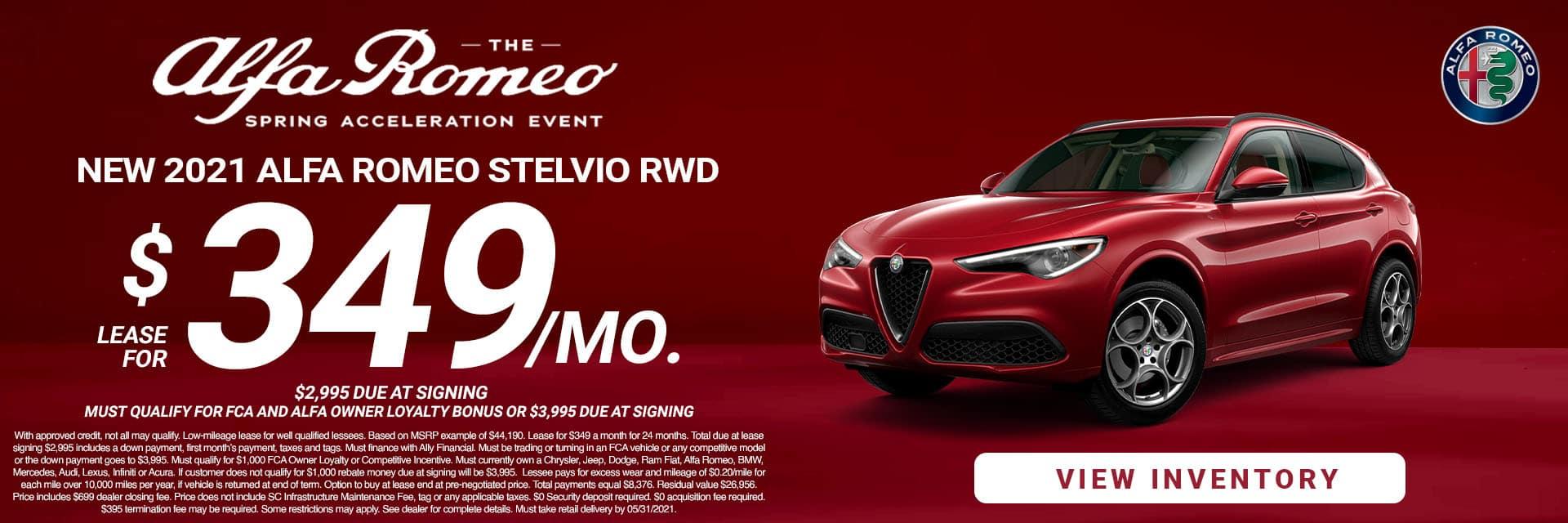 SLAR-May 20212021 Alfa Romeo Stelvio