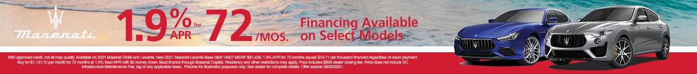 SLM-July 2021Finance Offer SRP Banner