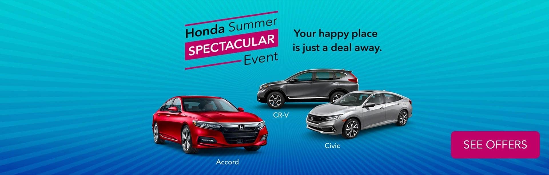Honda Summer Banner
