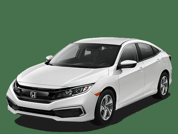 2019 Honda Civic Sedan Platinum White PearL LX