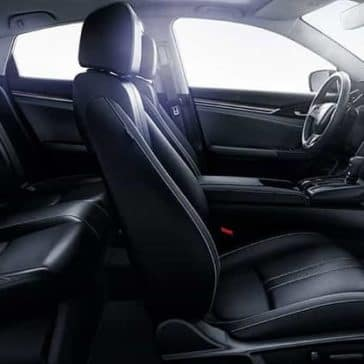 2019-Honda-Civic-Sedan-leather-seating