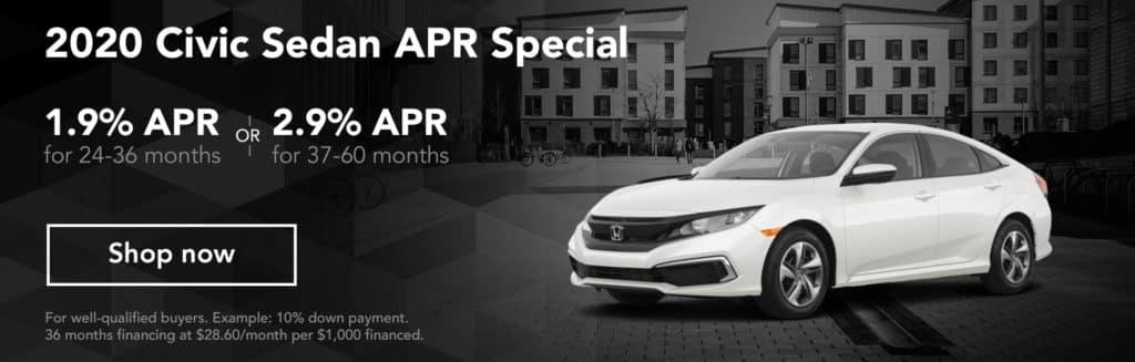 2019 Civic Sedan APR Special