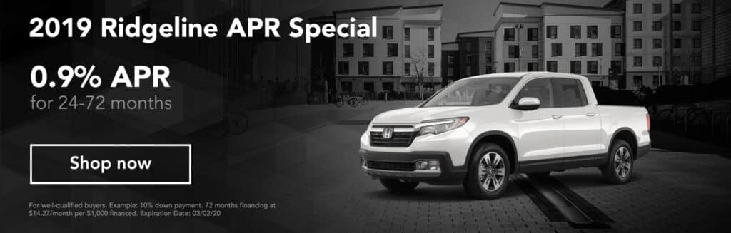 2019 Ridgeline APR Special