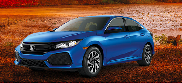 New 2019 Honda CIVIC LX HATCHBACK