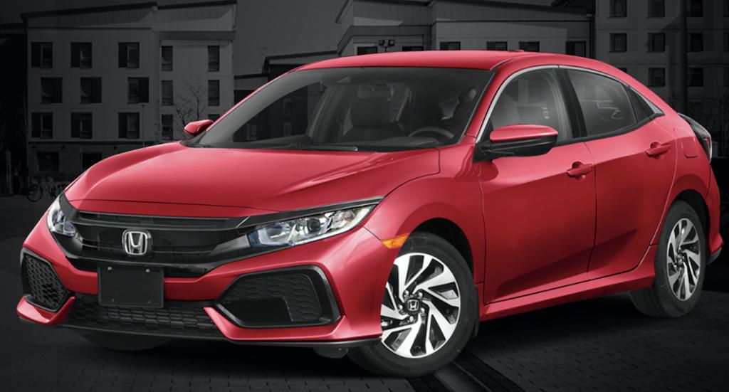 2019 Civic Hatchback CVT LX