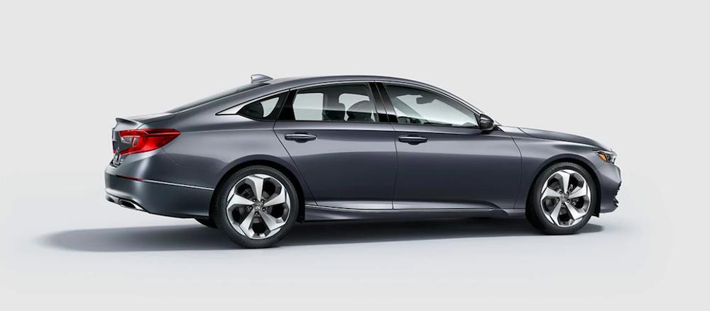 A 2020 Honda Accord shown in Modern Steel Metallic