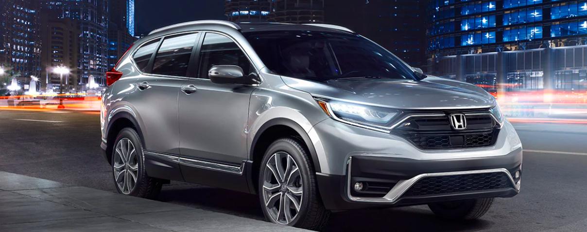 A 2020 Honda CR-V with Honda Sensing technology