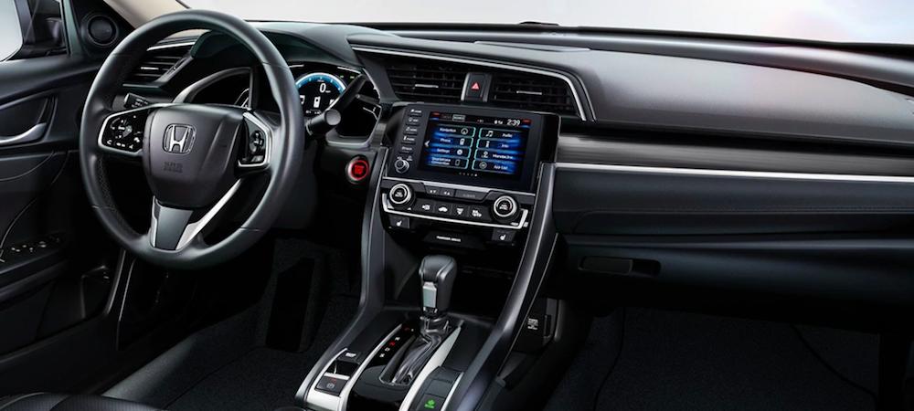 2020 honda civic interior features sedan features tempe honda 2020 honda civic interior features
