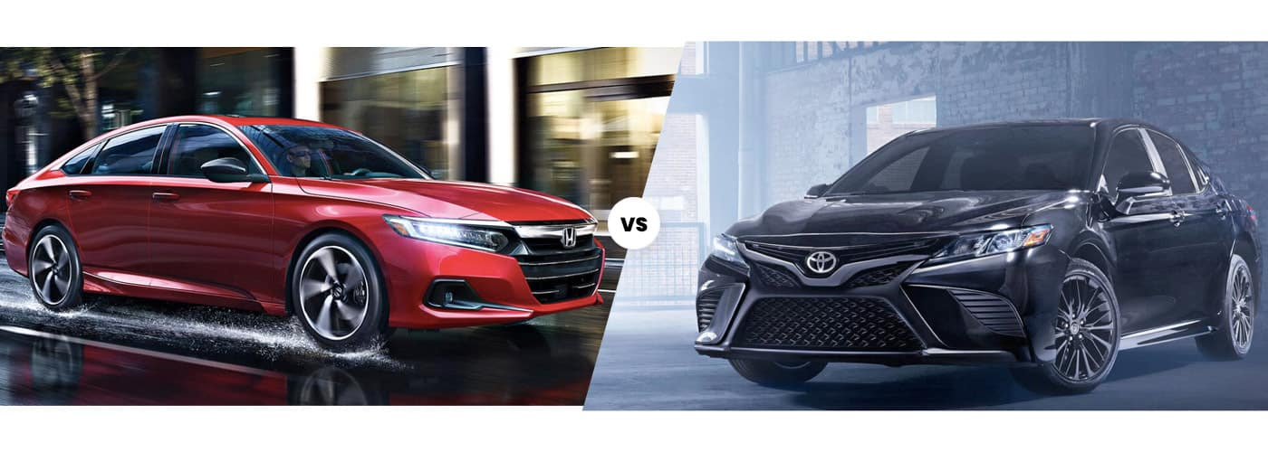 Honda Accord vs. Toyota Camry