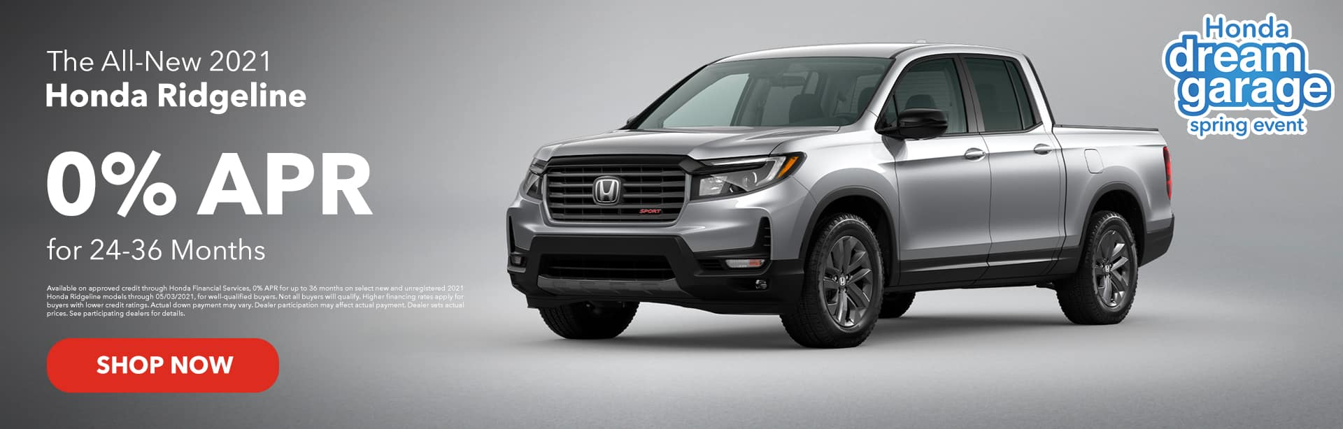 The All-New 2021 Honda Ridgeline