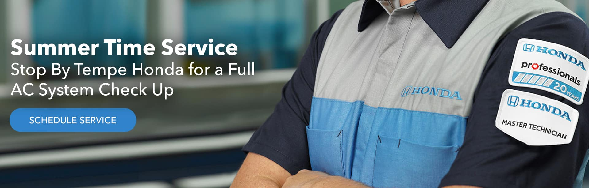 Summer Time Service. Stop By Tempe Honda for a Full AC System Check Up