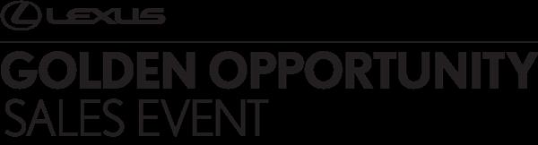 Golden Opportunity Event Logo
