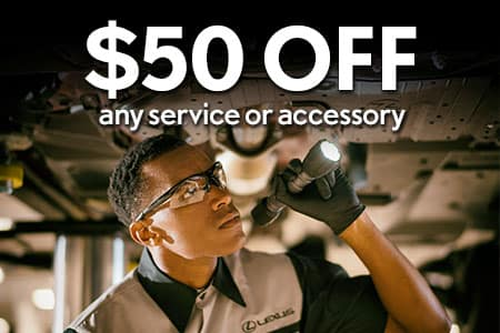 $50 OFF Any Service or Accessory