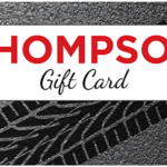 Thompson gift cards