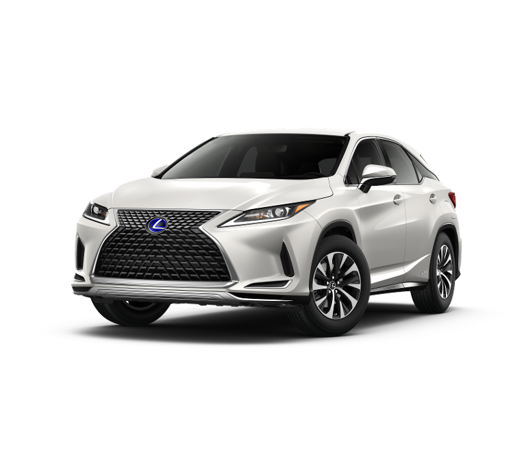 New 2021 Lexus RX 450h AWD Lease