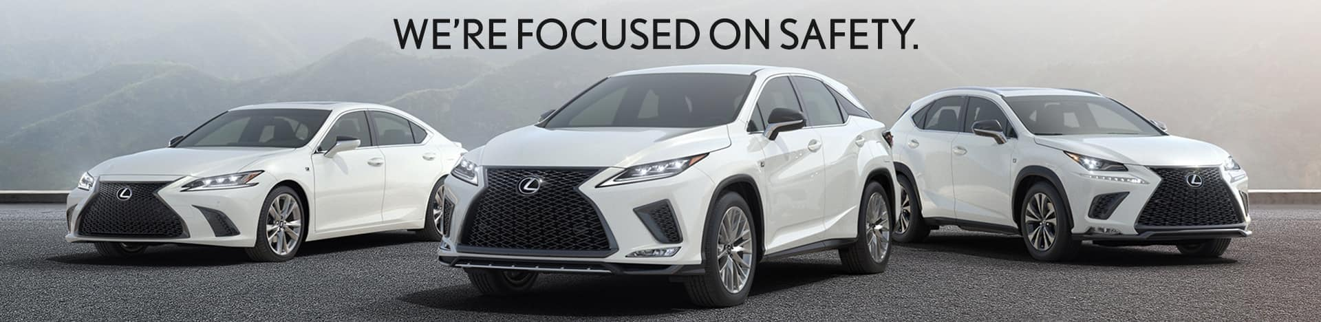 We're focused on Safety at Thompson Lexus in Doylestown, PA.