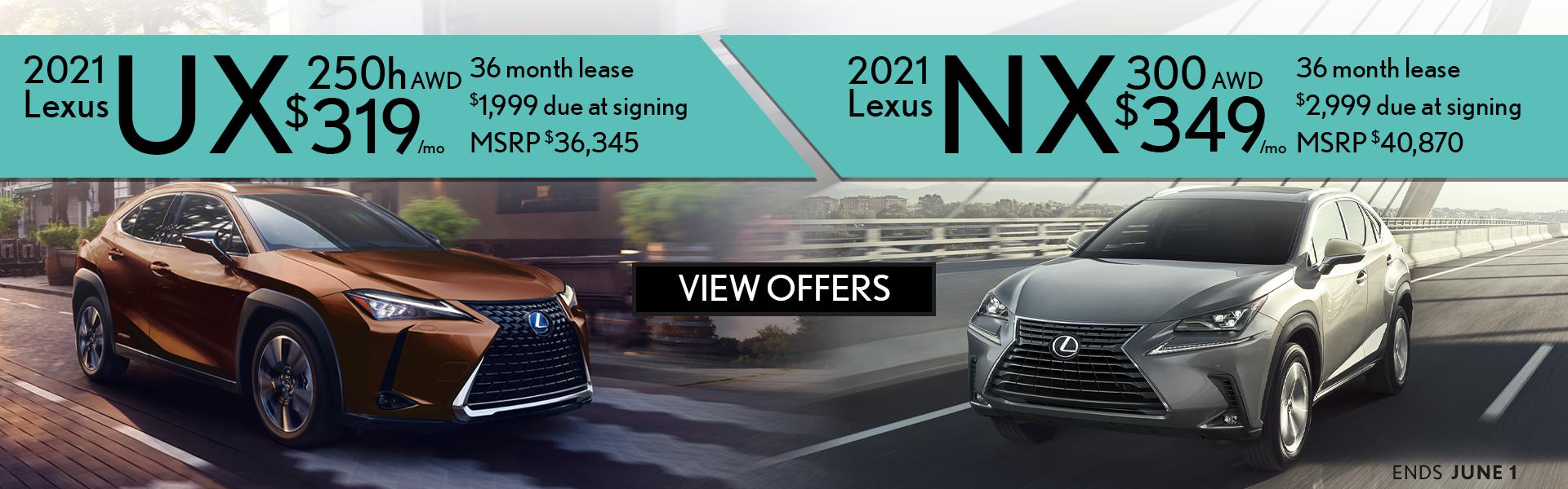 UXh NX split offer
