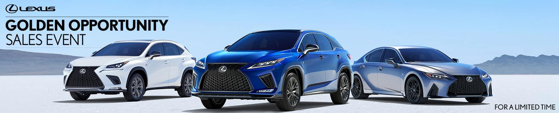 Lexus Golden Opportunity Sales Event