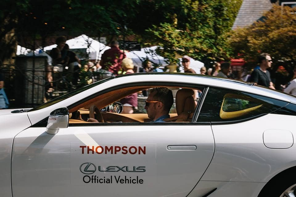 Thompson Lexus Official Vehicle