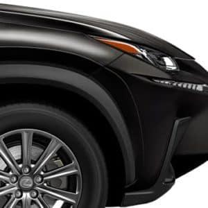 2020 Lexus NX 300 Black Front Crossover Exterior