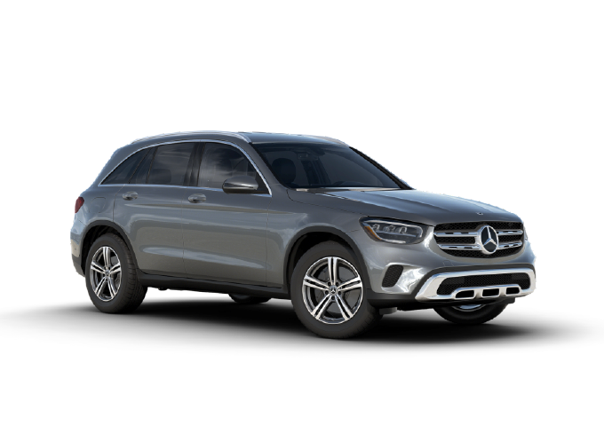 2020 Mercedes Benz GLC silver