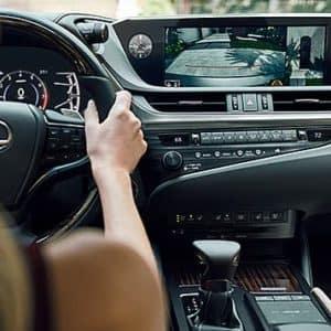 2020 Lexus ES Interior Driving