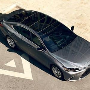 2020 Lexus ES Exterior Above View