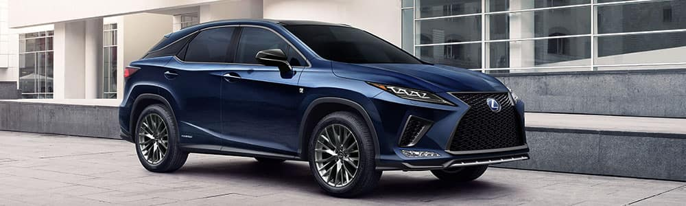 2020 Lexus RX 350 vs. 2020 Mercedes GLC 300
