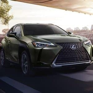 2020 Lexus UX Green Exterior