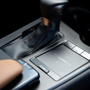 2020 Lexus UX Console
