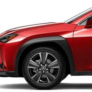2020 Lexus UX Red Exterior Front