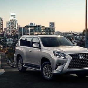 2020 Lexus GX 460 SUV Silver Exterior from Thompson Lexus