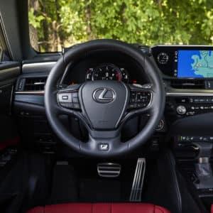 2021 Lexus ES 250 interior