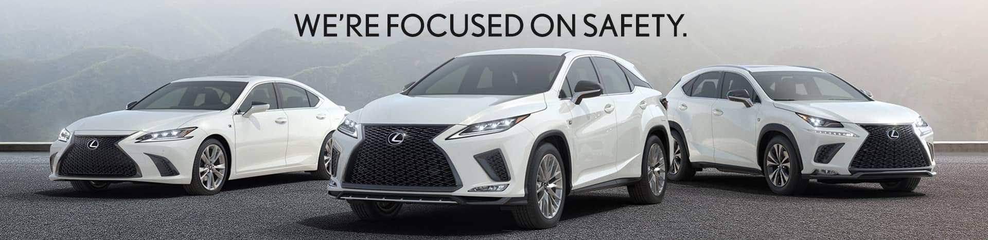 We're focused on Safety at Thompson Lexus Willow Grove.