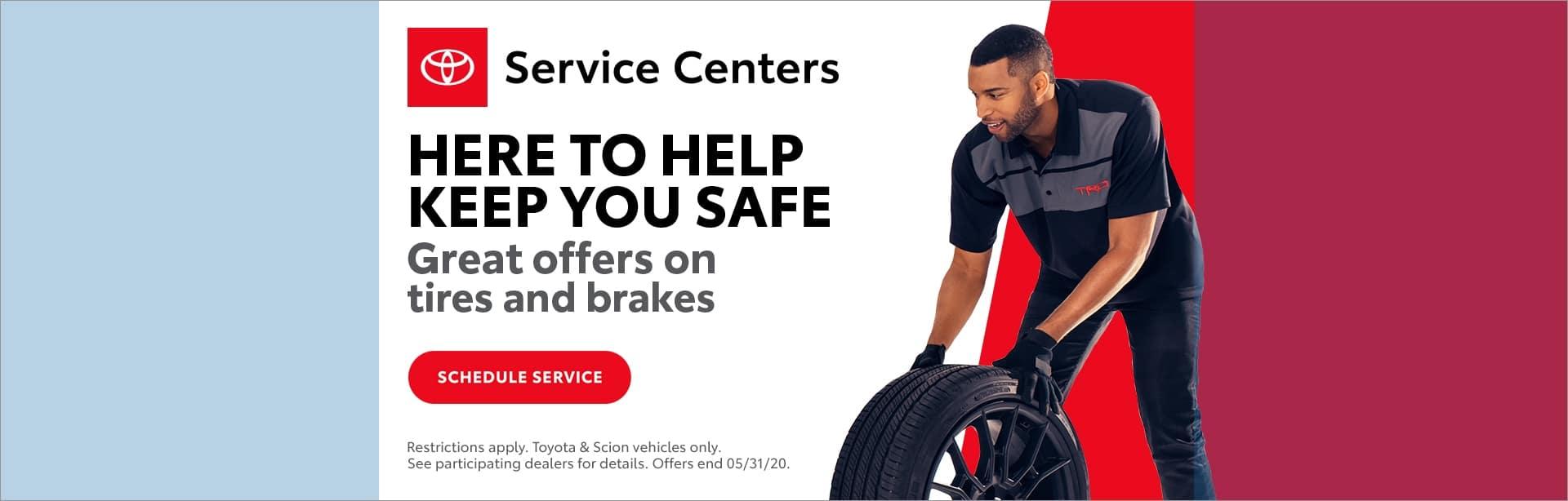 Toyota, Here to help keep you safe