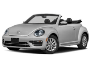 2019 VW Beetle Convertible angled