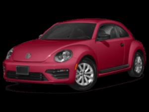 2019 VW Beetle angled