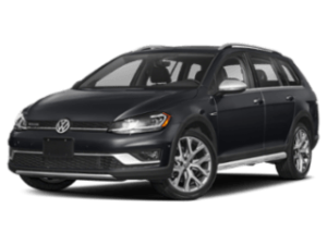 2019 VW Golf Alltrack angled