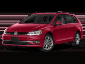 2019 Volkswagen Golf SportWagen 320 angled