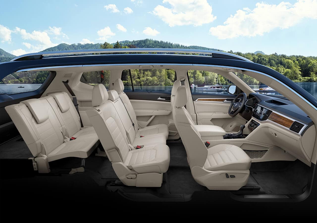 Cabin of the 2019 Atlas