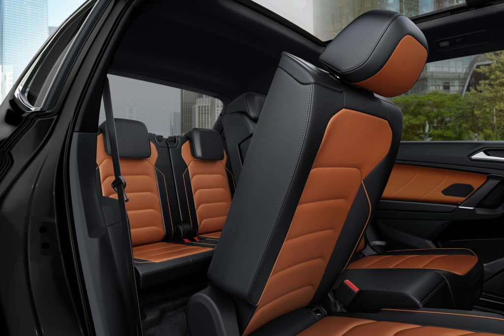 Versatile Interior of the 2020 Tiguan