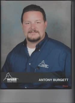 Antony Burgett