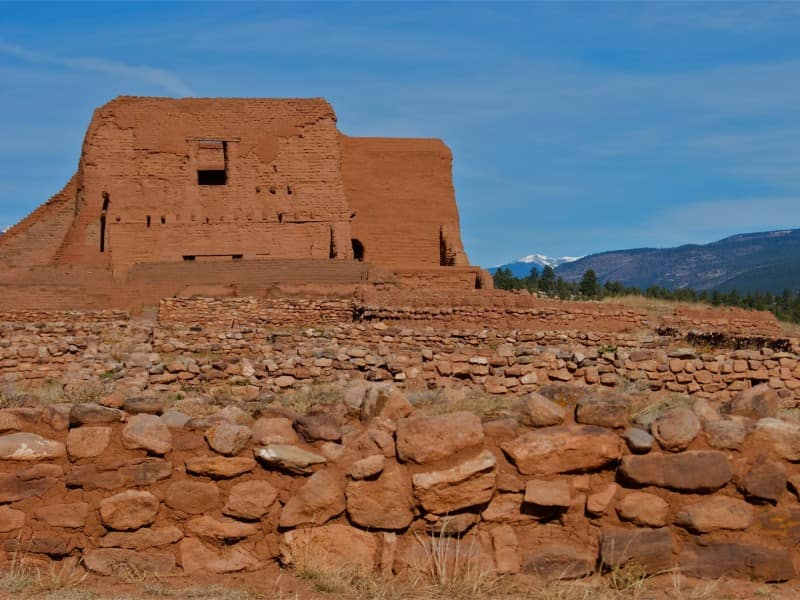 Salinas Pueblo Missions in New Mexico